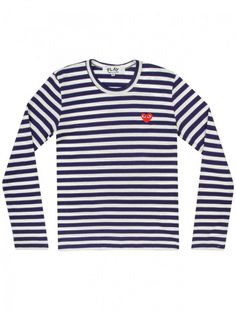 5521567b5798 Comme des Garcons. Navy And WhitePlaying ...