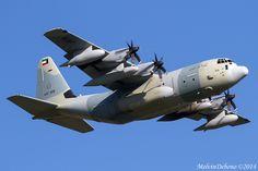 Kuwait Air Force KC130J 'KAF326' LMML