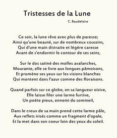 Tristesses de la lune _ Charles Baudelaire