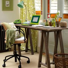 Work space inspiration, Photo: House to Home
