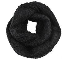 Black Snood Soft Cosy Knitted Cowl Loop Scarf Gorgeousgalz http://www.amazon.co.uk/dp/B015ED5JD0/ref=cm_sw_r_pi_dp_JORawb056TSEC