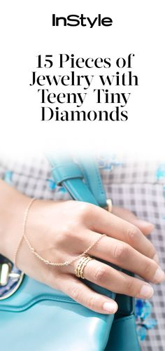 Treat Yourself to 15 Jewelry Pieces with Teeny-Tiny Diamonds from InStyle.com
