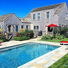 Dreaming of summer on Nantucket ... check out @hightidehomesllc new rental... walking distance to town and a pool.