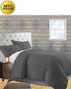 Celine Linen® Wrinkle & Fade Resistant 2-Piece Duvet Cove...
