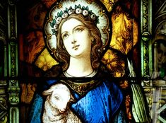 Agnes of Rome was born in 291 AD and raised in a Christian family. Agnes was very beautiful and belonged to a wealthy family. Her hand in marriage was highly sought after, and she had many high . Catholic Online, Catholic Kids, Catholic Saints, Patron Saints, Roman Catholic, Mary I, Mother Mary, Novenas Catholic, Santa Ines