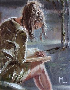 City Stories by Monika Luniak : City Stories Artist: Monika Luniak Art Drawings Sketches, Love Art, Art Pictures, Photos, Female Art, Art Girl, Painting & Drawing, Amazing Art, Original Paintings