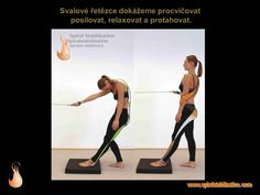 2 - Svalové řetězce Health Fitness, Exercise, Sport, How To Plan, Physical Therapy, Stretching, Anatomy, Ejercicio, Deporte
