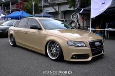 Stanced Audi