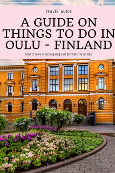 A Guide on Things to do in Oulu Travel Guides, Travel Tips, Travel Plan, Budget Travel, Group Travel, Family Travel, Finland Summer, Finland Travel, Travel Abroad