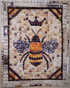 Animal Quilts, Bees Knees, Kona Cotton, Mini Quilts, Bee Keeping, Queen Bees, Quilt Blocks, Quilt Patterns, Ideas
