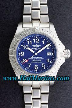 Breitling Avenger Seawolf E17370, $2,500.00.     http://www.halmartins.com