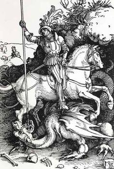 Titulo de la imágen Alberto Durero - Dürer / St. George