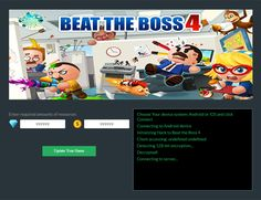 Beat the Boss 4 Hack Generator Cheat Online, Hack Online, Beat The Boss 4, Game Resources, Android Hacks, Game Update, Test Card, Free Gems, First Game