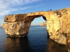 Malta Getaway - The Azure Window on Gozo via Travel Mamas