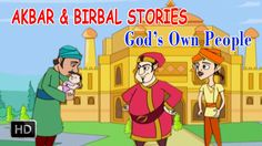 Akbar And Birbal - God's Own People - Short Stories for Children Birbal Stories, Short Stories For Kids, Folklore, Mythology, Family Guy, God, Children, Youtube, People