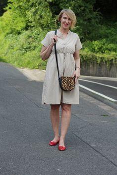Bequemes Kleid für heiße Sommertage