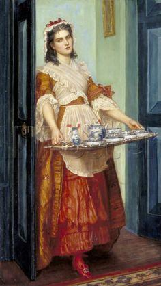 Valentin Cameron Prinsep / The Dish of Tea