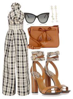 """""""Untitled #3"""" by jermainejayden on Polyvore featuring Rosie Assoulin, Gucci, Tom Ford, Kate Spade and Arme De L'Amour"""