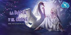 La dama y el cisne - Photoshop manipulation - Aprende Photoshop en español