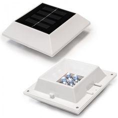 Halolite 2 Pack Solar Gutter/Fence Light