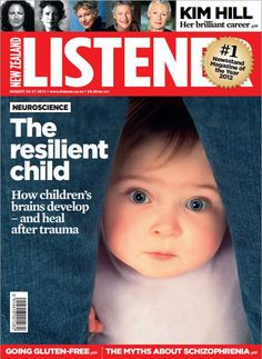 Sad but true... a child's brain develops differently when exposed to abuse.   The resilient child: How children's brains develop- and heal after trauma