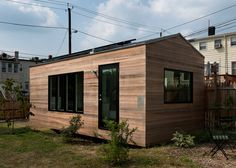 Anyone wanting to construct their own tiny house can now buy detailed plans for a micro dwelling designed by Washington DC studio Foundry Architects