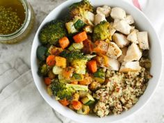 The Veggie Table: Quinoa with Brussels Sprouts and Pomegranate   Food Network Healthy Eats: Recipes, Ideas, and Food News   Food Network