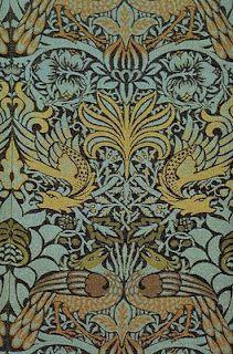 William Morris, Peacock and Dragon textile, 1878
