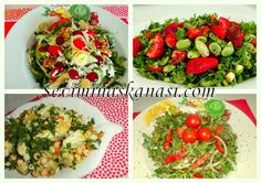 Kolay Yemek Tarifleri: Salata Tarifleri