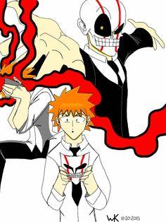 ichigo kurosaki in THE MASK! SMOKIN'!!