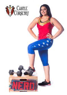 Wonder Workout Pants by CastleCorsetry on Etsy https://www.etsy.com/listing/255634521/wonder-workout-pants