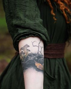 Pretty Tattoos, Love Tattoos, Tattoo You, Beautiful Tattoos, Body Art Tattoos, Forest Tattoos, Nature Tattoos, Piercings, Baba Yaga