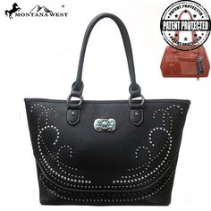 Montana West MW117G-8317 Concealed Carry Handbag