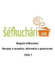 Gastromagazín č. 1