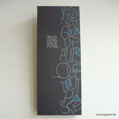 Ligatura Muurdecoratie#Repin By:Pinterest++ for iPad#