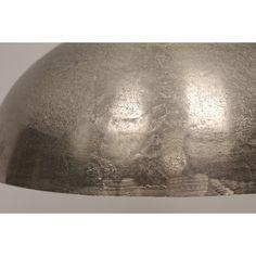 Hanglamp RUVIDA | ruw nikkel Ø 50 cm - Toon alle hanglampen - Hanglampen - Producten