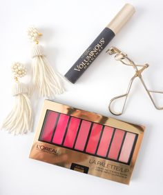 Lipstick has a way of making you feel feminine, fierce, frivolous, or flirty and there is nothing wrong with that! L'Oreal Lip Palette is my new go-to lipstick. Lip Palette, Perfect Lips, Kiss Makeup, Loreal, Eyeshadow, Blush, Lipstick, Accessories, Beauty