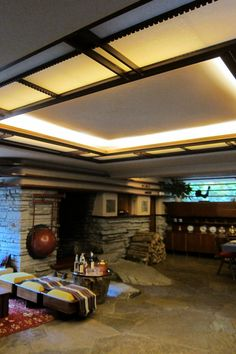 PA - Mill Run: Fallingwater - Livingroom | Flickr - Photo Sharing!