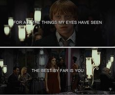 Ron and Hermione - you've a place in my heart no one could ever have