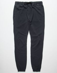 Hurley Dri-Fit Drifter Mens Jogger Pants Black  In Sizes