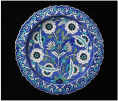 Lachenal, Edmond (1855 - 1930) Dish France, 1889 Earthenware painted in colours V, 501-1889