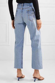 Denim Outfit For Women, Best Jeans For Women, Jeans Women, Raw Denim, Light Denim, Extreme Ripped Jeans, Leather Jeans, Denim Jeans, Holey Jeans