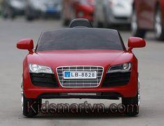 ô tô điện trẻ em Audi LB-8828 (màu đỏ)