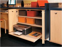 Flat Roll-Out Shelves | Crystal Cabinets