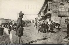 البصرة -  العشار سنة 1917 ( صورة توثيثية ..)  .. قرب دائرة البريد والبرق في العشار