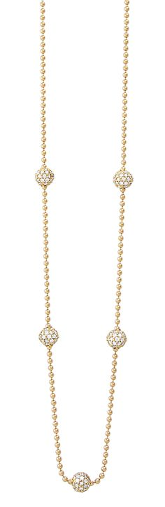 Covet Diamond Gold Necklace | LAGOS.com