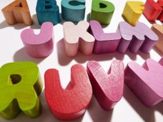 Wood Janod Alphabet Puzzle Letters by weandthebean on Etsy, $1.00