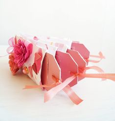 DIY Valentines gift for him or her, a scrapbook made out of toilet paper rolls! <3