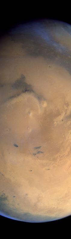 Elysium and environs, Mars (ESA / DLR / FU Berlin / Justin Cowart)