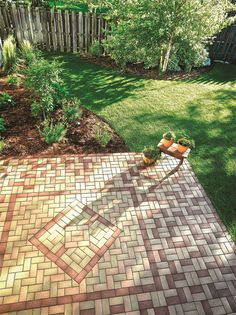 Paver Patterns For Patios Petersburg Brick Pavers